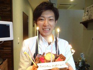 店長誕生日